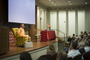 Radhanath Swami stresses the importance of compassion in leaders